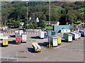 NX0767 : Container Trailers at Cairnryan by David Dixon
