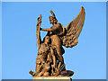 SJ9499 : Soldier and Victory, Ashton-Under-Lyne War Memorial by David Dixon