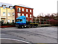 SO3014 : S.A. Griffiths Transport articulated lorry in Abergavenny by Jaggery
