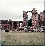 NU1241 : Lindisfarne Priory by Malcolm Neal
