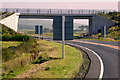 NX1557 : Bridge over the Dunragit Bypass by David Dixon