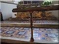 SU6474 : Altar rail decoration by Bill Nicholls