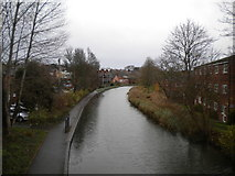 SO8554 : Worcester & Birmingham Canal, Worcester by Richard Vince