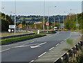 SK6036 : A52 Gamston Lings Bar Road at Gamston by Mat Fascione