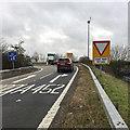 SP3060 : M40 northbound Junction 13 sliproad by Robin Stott