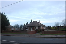 TL3998 : Bungalow on Wisbech Road, Westry by David Howard
