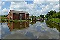 SJ8316 : High Onn Wharf in Staffordshire by Roger  Kidd