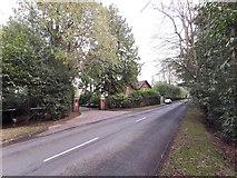 TQ0084 : Entrance to the Fulmer Rise Manor Estate by James Emmans