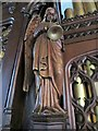 SU6474 : Angel on the organ by Bill Nicholls