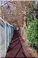 TQ4468 : Suburban Footpath by Glyn Baker