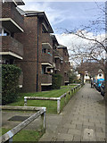TQ3370 : Kendall Court flats, on the west side of Tudor Road, Upper Norwood, south London by Robin Stott