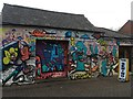 SK5237 : More new graffiti in Beeston by David Lally