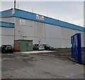 ST3486 : Electricity substation at the edge of vacant premises in Leeway Industrial Estate, Newport by Jaggery