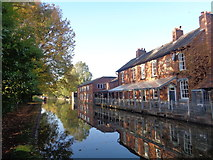 SO9466 : The Boat and Railway, Stoke Prior by Jeff Gogarty