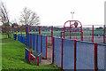 TQ4669 : Hoblingwell Wood Rec by Glyn Baker