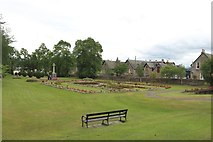 NH7500 : Memorial Gardens, Kingussie by Graham Robson