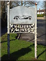 SO7847 : Malvern Link sign by Chris Allen