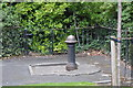 O1533 : An old water pillar, St Stephen's Green by N Chadwick