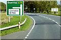 NX7966 : A75 near Ram Hill by David Dixon