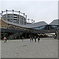 TQ3083 : King's Cross: in Coal Drops Yard by John Sutton