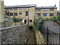 SP1438 : Former Silk Mill by Philip Halling