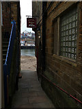 NZ8911 : The Harbour Bar, Whitby by Stephen Craven