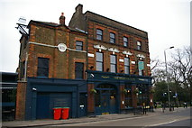 TQ3090 : The Starting Gate pub, opposite Alexandra Palace station by Christopher Hilton
