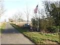 TM2683 : Memorial to 22 U.S.A.A.F. Airmen of the 446th Bomb Group by Adrian S Pye