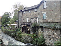 NY3704 : Former watermill on Stock Ghyll by Eirian Evans