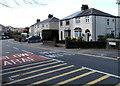 SS7697 : Llantwit Road semis, Llantwit, Neath by Jaggery