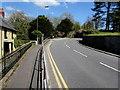 SS7697 : Bend in Llantwit Road, Llantwit, Neath by Jaggery