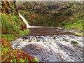 NH6883 : Waterfall on the Craigroy Burn by valenta