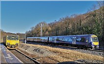 SK3281 : Recently cascaded Scotrail Class 170 meets Great Western Class 150 at Dore & Totley by Chris Morgan