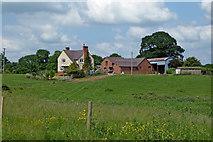 SJ8021 : Barn Bridge Farm near Gnosall Heath, Staffordshire by Roger  Kidd