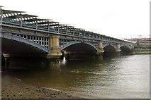 TQ3180 : Blackfriars Railway Bridge by Steve Daniels