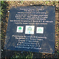 TQ3269 : Marker stone, Beulah Spa by Robin Drayton