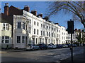 SP3266 : Terrace of houses, Warwick Street, Royal Leamington Spa by Ruth Sharville