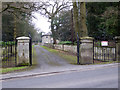 SO8463 : Entrance to Ombersley Court by Chris Allen
