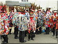 TL2697 : Red Leicester Morris Men (and boy!) - Whittlesea Straw Bear Festival 2019 by Richard Humphrey