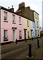 SO3700 : Pink house, Maryport Street, Usk by Jaggery