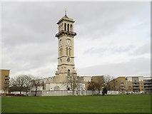 TQ3084 : Clock tower in Caledonian Park, near Holloway by Malc McDonald