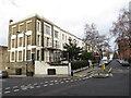 TQ2984 : Cliff Road, near Camden Town by Malc McDonald