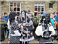 TL2797 : Pig Dyke Molly dancers - Whittlesea Straw Bear Festival 2019 by Richard Humphrey