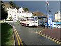 SH7882 : Vintage Tour Coach, Llandudno North Parade by David Dixon