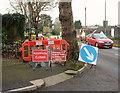 SX9065 : Closed path, Barton Road, Torquay by Derek Harper