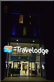 TL4658 : Travelodge entrance by N Chadwick