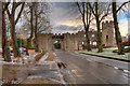 SH9974 : Bodelwyddan Castle Hotel by David Dixon