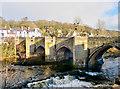 SJ2142 : Llangollen Bridge by David Dixon