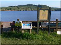 SN8329 : Boat launching area at the Usk Reservoir by Mat Fascione