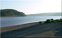 SN8329 : Usk Reservoir from the boat launching area by Mat Fascione